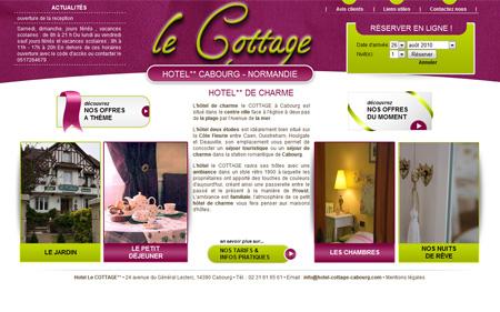 Le cottage hotel de charme 2 etoiles cabourg hotel le - Hotels de charme le treehotel en suede ...