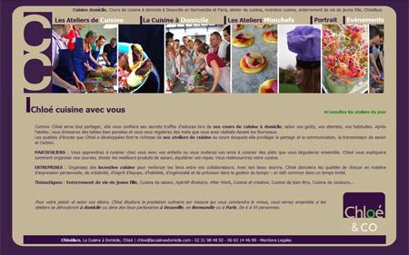 honfleur samm agence web cuisine domicile cuisine domicile atelier de cuisine deauville. Black Bedroom Furniture Sets. Home Design Ideas